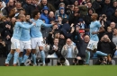 Sergio Aguero equals Manchester City all-time record as Blues show their title credentials
