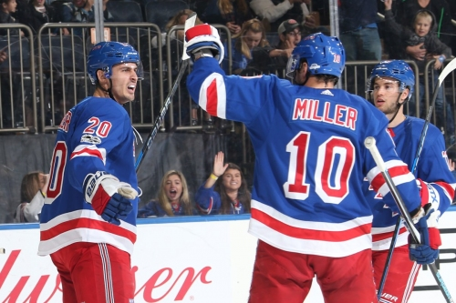 Rangers stop bleeding, snap five-game skid with 4-2 win vs. Preds
