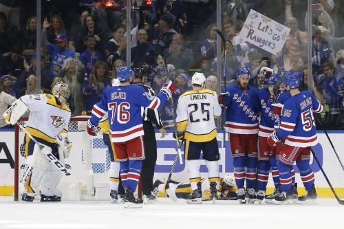 Nashville Predators 2, New York Rangers 4: Not The Start We Were Looking For