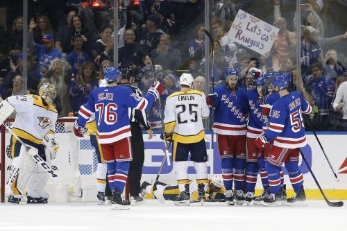 Rangers Vs. Predators: Rangers Finally Snap Losing Skid, Defeat Predators 4-2