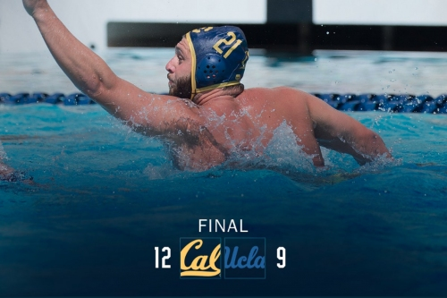 Avenging lone loss of the year, Cal Men's Water Polo beats UCLA 12-9 from LA