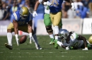 Oregon Ducks and UCLA Bruins Tied 14-14 at Half