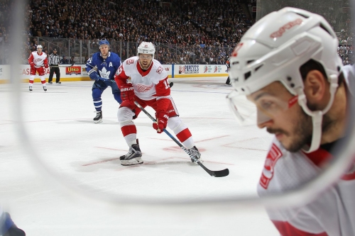 Red Wings Trade Riley Sheahan to Pittsburgh and Ryan Sproul to New York for Scott Wilson, Matt Puempel & Picks