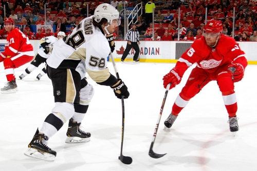Penguins trade Scott Wilson + 3rd to Detroit for Riley Sheahan + 5th round pick