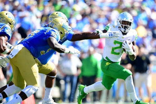 Game Recap: UCLA outlasts Oregon 31-14, as Royce Freeman passes LaMichael James with 160 rushing yards