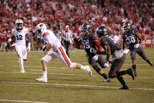 Hogs Sloppy On Offense and Special Teams, Beaten By Auburn