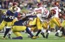 #13 Notre Dame Fighting Irish Defeats #11 USC Trojans 49-14 in Dominant Performance