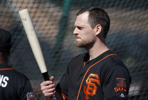 Report: Giants playoff hero among two hitters who elect free agency