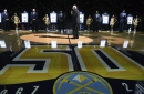 "Denver Nuggets ""Legends"" connect to current team prior to home opener"