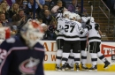 Kings top Blue Jackets to remain unbeaten in regulation