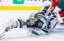 Stalock steady, Wild complete comeback in Calgary