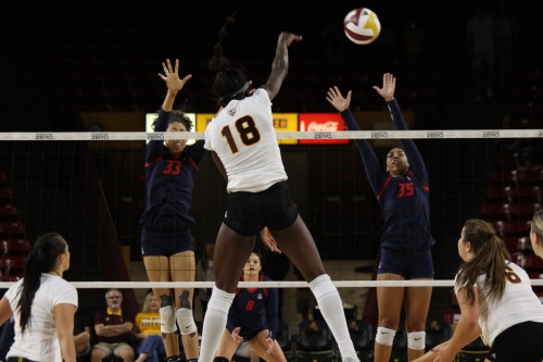 ASU Volleyball: Sun Devils get swept in 10th Pac-12 loss