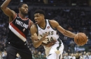 Greek Freak Foils Trail Blazers' Perfect Road Trip