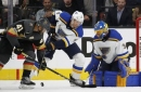 Karlsson lifts Golden Knights to 3-2 win over Blues in OT (Oct 21, 2017)