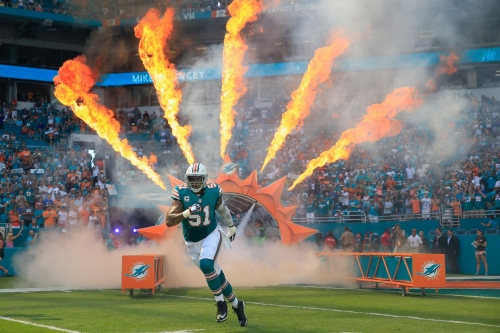 Jets at Dolphins injury report: Mike Pouncey questionable, DeVante Parker doubtful