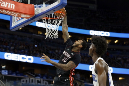 Miami Heat players vote in Goran Dragic and James Johnson to join Udonis Haslem as tri- captains