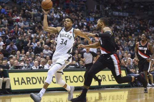 Milwaukee vs. Portland: Giannis Overpowers Blazers