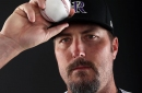 Chad Qualls definitely existed and played for the Rockies in 2017