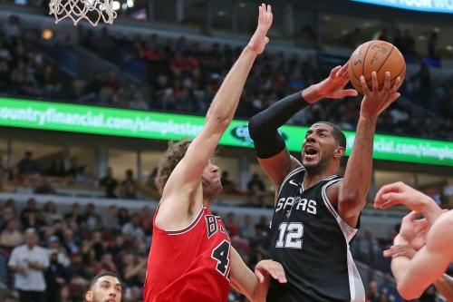 Bulls vs. Spurs recap: Markannen with double-double, but LaMarcus Aldridge continues scorching team that traded him