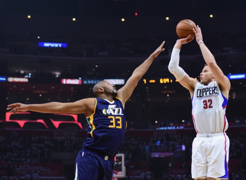 Clippers' Blake Griffin is shooting more three-pointers than ever