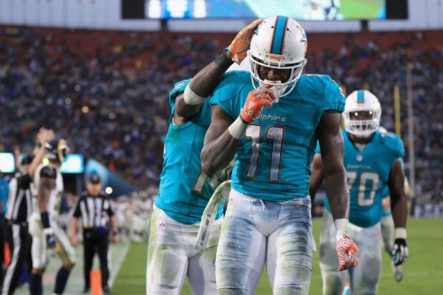 Jets at Dolphins inactive players lists: DeVante Parker inactive for Miami