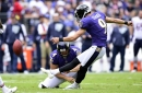 Justin Tucker easily drills second longest career field goal to tie the game, 6-6