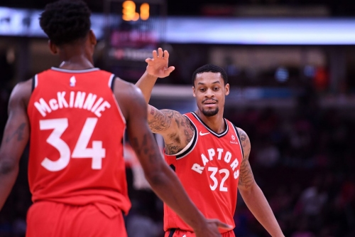 K.J. McDaniels waived by Raptors, roster at 16