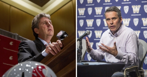 No change for UW and WSU in college football rankings