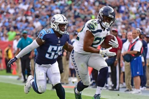 Seahawks-Giants inactives: C.J. Prosise returns
