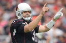 Cardinals-Rams: Carson Palmer out with left arm injury, Cardinals getting destroyed by Rams