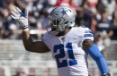 WATCH: Ezekiel Elliott is getting fed, scores second rushing TD of the game!