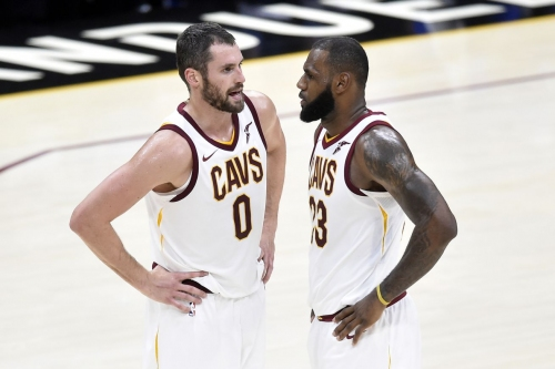 Cleveland Cavaliers one play explained: Kevin Love connects with LeBron James