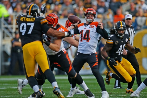 Steelers vs. Bengals Week 7: 2nd quarter in-game update