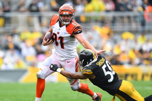 NFL Week 7 2017: Bengals at Steelers Second Half