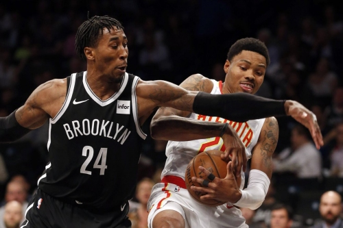 Russell, Crabbe lead Nets to second consecutive victory, 116-104