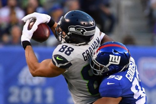 Seahawks-Giants game thread, 4th quarter: Seattle holds slim lead after 3