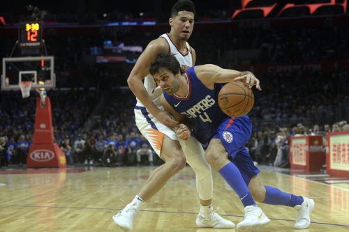 Clippers Injury Update: Milos Teodosic Out Indefinitely With Plantar Fascia Injury