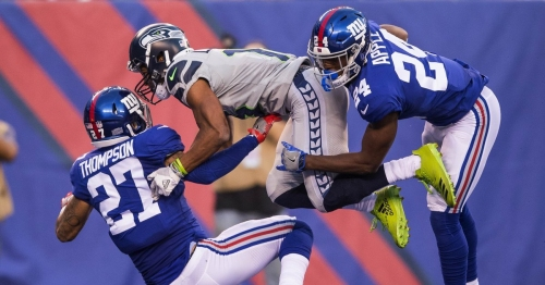 Seahawks get A on defense for keeping Giants in check until offense got rolling