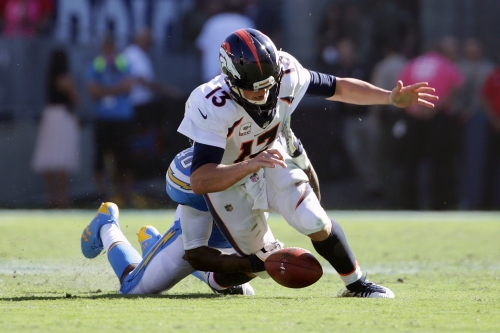 Broncos shut out for first time since 1992 with loss to Chargers