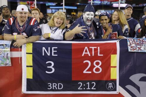 Sunday Night Football open thread: Falcons at Patriots