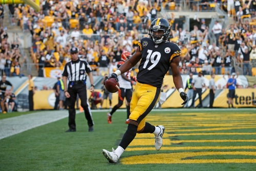 JuJu Smith-Schuster makes NFL history in Week 7 vs. Bengals