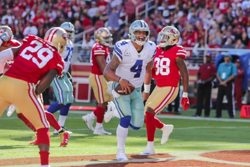 The Cowboys did what they were supposed to do during their win in San Francisco