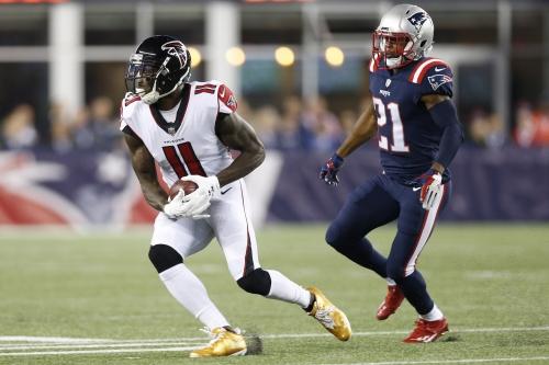 Julio Jones scores first touchdown of 2017 in garbage time