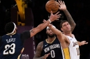Lakers vs. Pelicans Final Score: Late surge not enough for Lakers in 119-112 loss