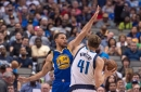 3 things to watch as the Mavericks host the Warriors