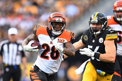 Joe Mixon is frustrated over lack of carries after Bengals' loss to Steelers