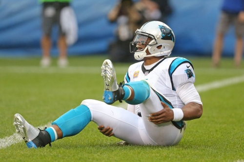 The Panthers lost a very bad game to the Bears