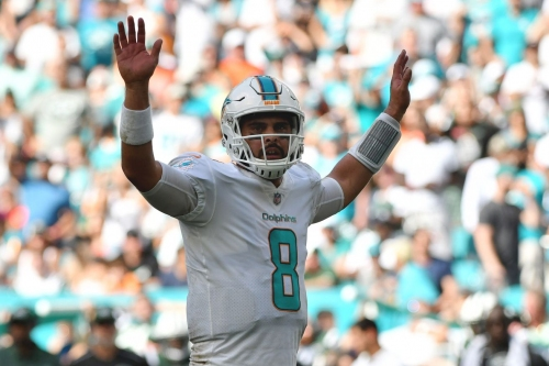 Matt Moore discusses Dolphins comeback win over Jets