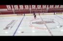 Watch Red Wings' Danny DeKeyser skate at Little Caesars Arena