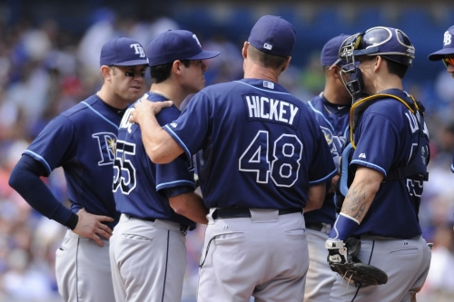 Giants interested in ex-Rays pitching coach Jim Hickey